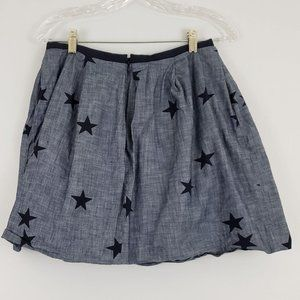 GAP Chambray Skirt With Pockets Size 2